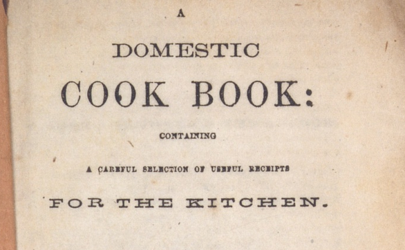 A Domestic Cook Book by Malinda Russell